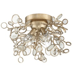 Craftmade 4-Light Gold Twilight Flushmount Light