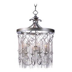 Maxim Lighting Alessandra Silver Mist Mini-Chandelier
