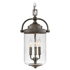 Hinkley Lighting Willoughby Oil Rubbed Bronze Outdoor Hanging Light