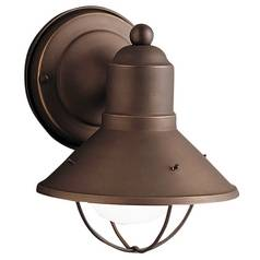 Kichler Lighting Nautical Outdoor Wall Light in Bronze Finish - 7-1/2-Inches Tall 9021OZ