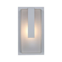 Access Lighting Neptune Satin Nickel LED Outdoor Wall Light