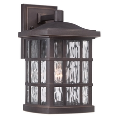 Quoizel Stonington Palladian Bronze Outdoor Wall Light