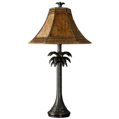 Stylecraft Transitional Verdi Palm Tree Table Lamp