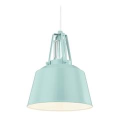 Crystal mini pendant lights crystal hanging lights feiss lighting freemont hi gloss blue mini pendant light aloadofball Images