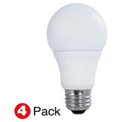 LED A19 Medium Base Light Bulb 60-Watt Equivalent by Satco