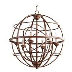 Quorum Lighting Salento Vintage Copper Pendant Light