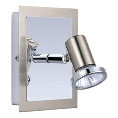 Eglo Rottelo Matte Nickel / Chrome Sconce