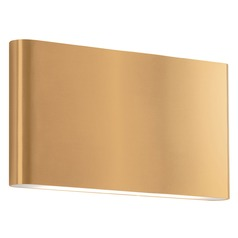 Kuzco Lighting Modern Gold LED Sconce 3000K 640LM