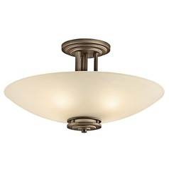 Kichler Modern Pendant Light in Olde Bronze Finish