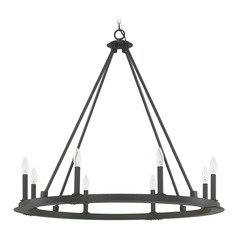 Capital Lighting Pearson Black Iron Chandelier
