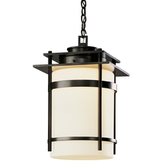 Hanging Outdoor Ceiling Pendant Light - 22-Inches Tall