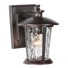 Craftmade Lighting Summerhays Oiled Bronze Gilded Outdoor Wall Light