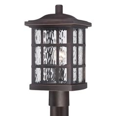 Quoizel Stonington Palladian Bronze Post Light