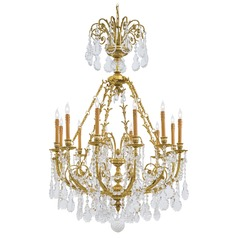 Metropolitan Metropolitan French Gold Chandelier