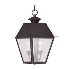 Livex Lighting Mansfield Bronze Outdoor Hanging Light