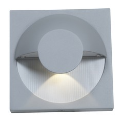 Access Lighting Zyzx Satin Nickel Outdoor Wall Light