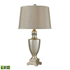 Dimond Lighting Antique Mercury, Silver LED Table Lamp with Empire Shade