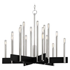 Hudson Valley Lighting Abrams Polished Nickel Chandelier