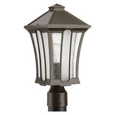 Progress Lighting Twain Antique Bronze Post Light
