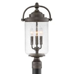Hinkley Lighting Willoughby Oil Rubbed Bronze Post Light