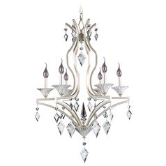 Florence 6 Light Crystal Chandelier