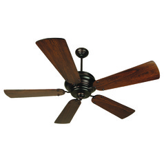 Craftmade Lighting Townsend Oiled Bronze Ceiling Fan Without Light