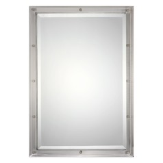 Uttermost Manning Brushed Nickel Mirror
