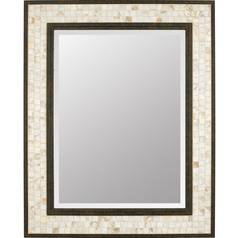 Monterey Mosaic Rectangle 24-Inch Quoizel Mirror