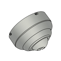 Ceiling Adaptor in Brushed Nickel Finish