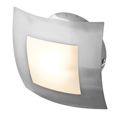 Access Lighting Argon Brushed Steel Sconce