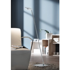 Glanz??? Brushed Aluminum LED Swing Arm Lamp