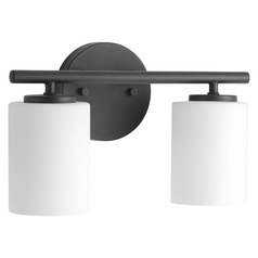 Modern Bathroom Light Black Replay by Progress Lighting