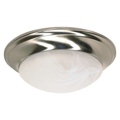 Nuvo Lighting Brushed Nickel Flushmount Light