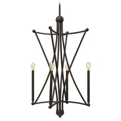 Hinkley Lighting Stella Oil Rubbed Bronze Pendant Light