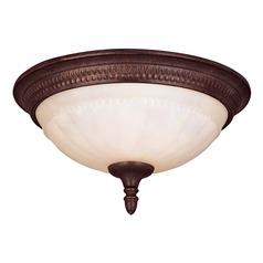 Savoy House Walnut Patina Flushmount Light