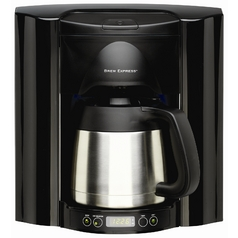 Brew Express Programmable 10 Cup Recessed Coffee Maker BE-110 BB