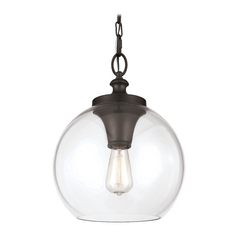 feiss lighting tabby oil rubbed bronze pendant light - Bronze Pendant Light