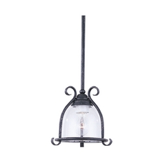 Sea Gull Lighting Mini-Pendant Light with Clear Glass 6145-07