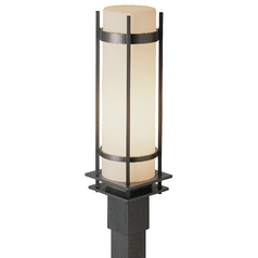 Outdoor Post Light in Iron Finish - 22-1/4-Inches Tall