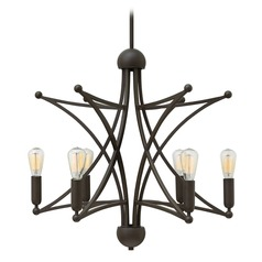 Hinkley Lighting Stella Oil Rubbed Bronze Chandelier