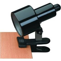 Lite Source Lighting Lite Source Lighting Clip-On Clamp Desk Lamp LS-112BLK