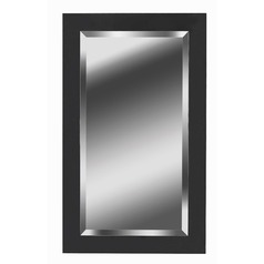 Black Ice Rectangle 24-Inch Mirror