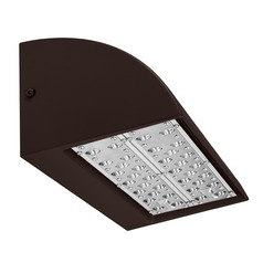 Bronze LED Wall Pack 5000K 10598 Lumens