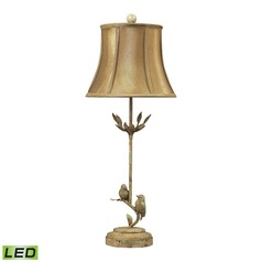 Dimond Lighting Mount Pleasant LED Table Lamp with Bell Shade