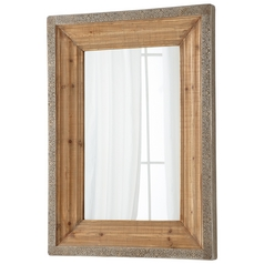Vintage Reflection Rectangle 35.75-Inch Mirror
