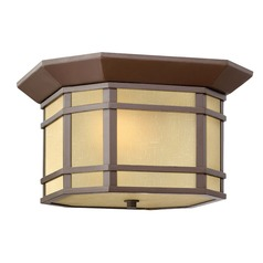 Hinkley Lighting Cherrycreek Oil Rubbed Bronze LED Close To Ceiling Light