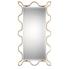 Uttermost Nunica Gold Mirror