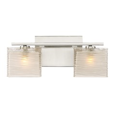 Quoizel Lighting Westcap Brushed Nickel LED Bathroom Light