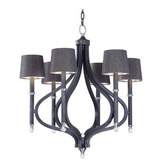 Maxim Lighting Hendrick Iron Ore Chandelier