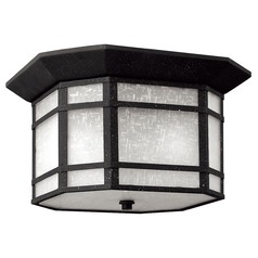 Hinkley Lighting Cherrycreek Vintage Black LED Close To Ceiling Light